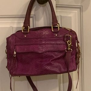 Rebecca Minkoff Purple animal Mini MAB